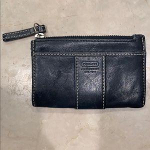 COACH  Leather coin purse